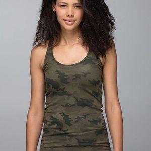 Lululemon camouflage tank